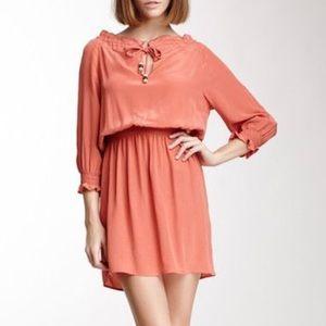 Amour Vert Chloe Silk Dress